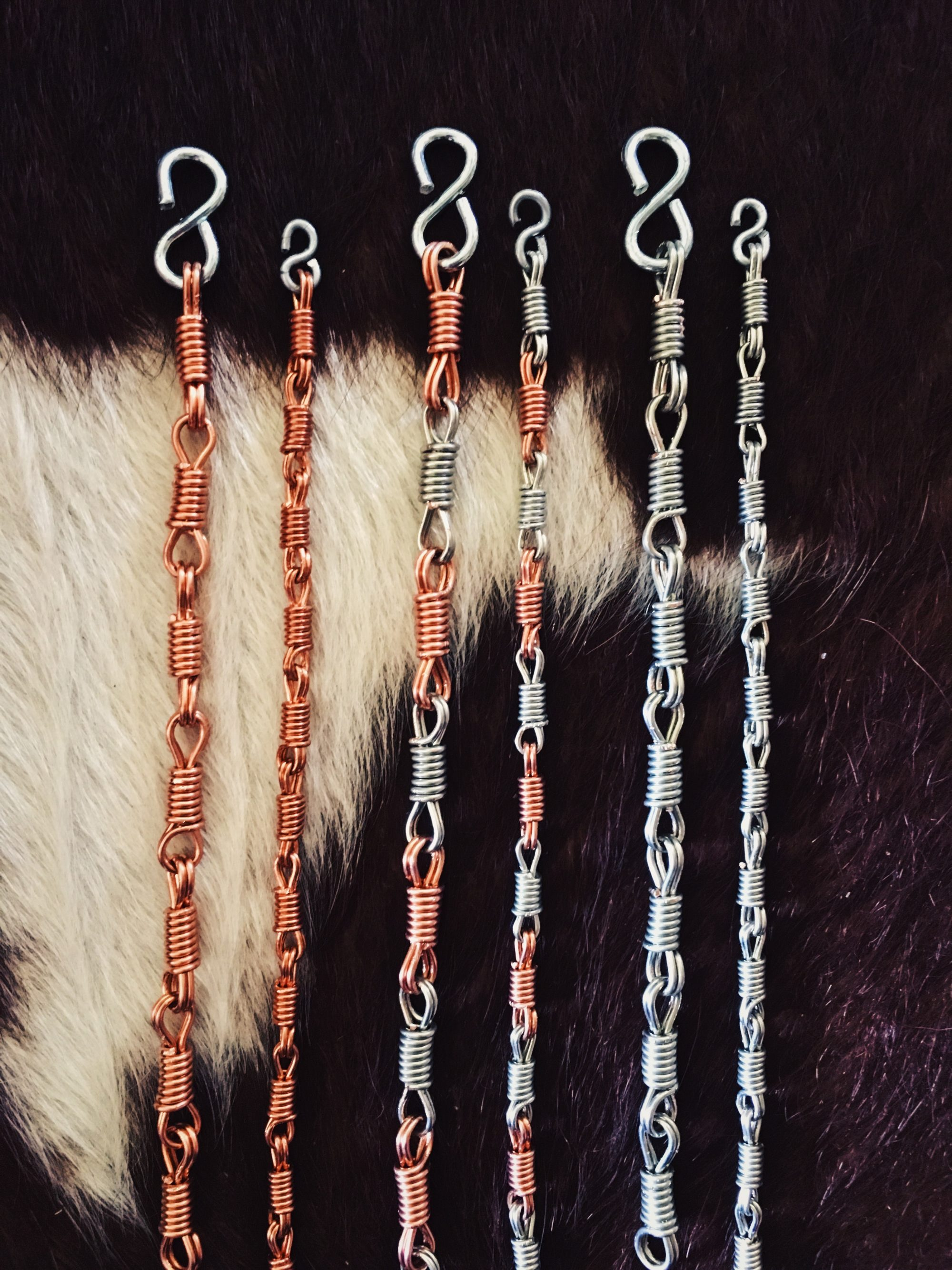 Ceily Rae Photography & Design Products Copper Rein Chain Bracelets