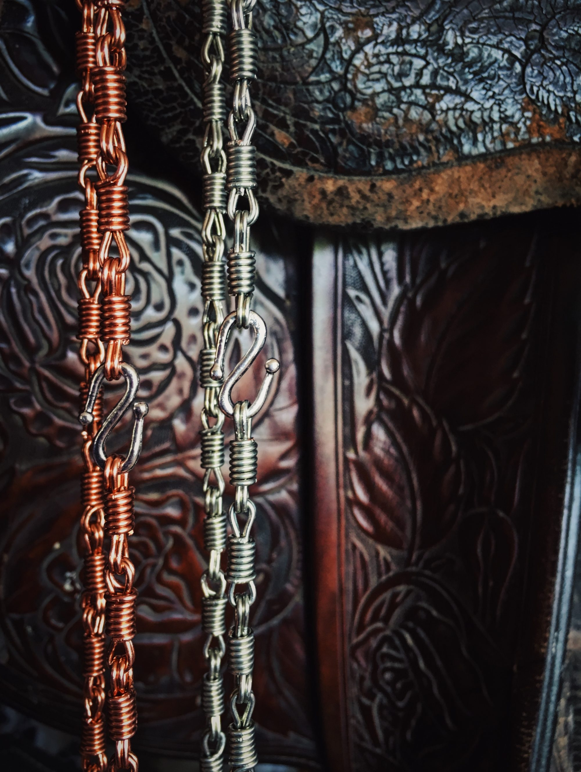 Ceily Rae Photography & Design Products Copper Rein Chain Bracelets Western Jewelry